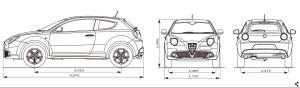 mito車両サイズ