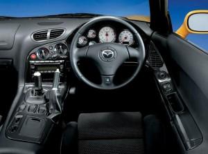 FD3S純正の運転席