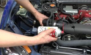 エアーインテークくっついて取れない場合使う潤滑油