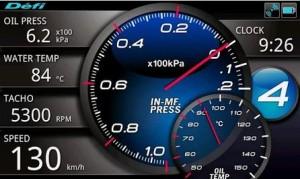 Defi Meter ABアプリ画面