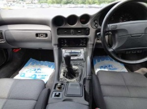 GTO初期モデルの運転席