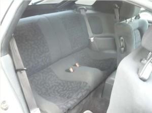 GTOの後部座席