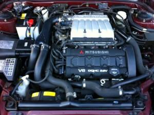 GTOのエンジンルーム