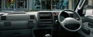 ハイゼット運転席
