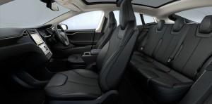 モデルS車内の写真