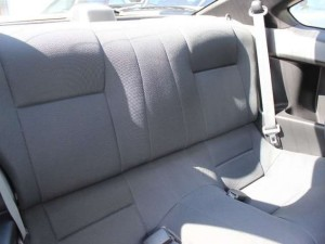 S15後部座席
