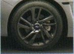 WRX S4ホイールガンメタリック塗装