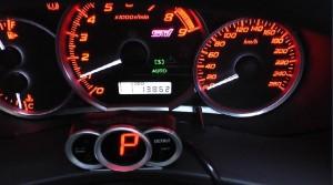車速パルス設定