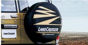 ランドクルーザー70スペアタイヤカバー