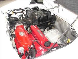 SW20型エンジンルーム