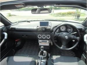 MR-S運転席