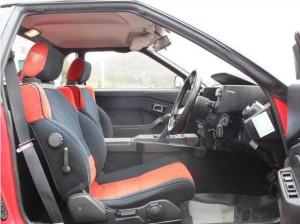 AW11型運転席写真2