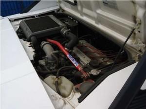 AW11型エンジンルーム