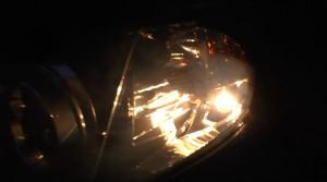 GVB純正ポジションランプ点灯
