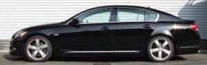 LEXUSISにRSRの車高調を装着イメージ