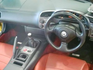 S2000AP1運転席
