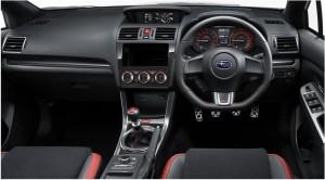 2014VAB-STIの運転席