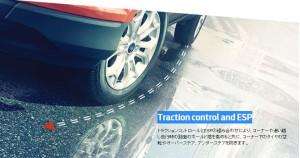 トラクションコントロールとESP