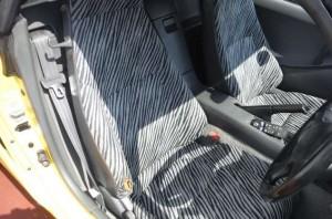 ビートの運転席シート