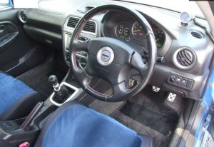 GGBの運転席