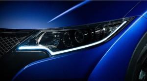 ヨーロッパ仕様2015シビックヘッドライト