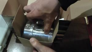 エアフローセンサー部のエアーインテークパイプ