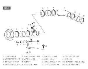 GVBのレーシングサクションリローデッド構成図