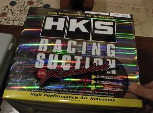 HKSレーシングサクションリローデッドの箱