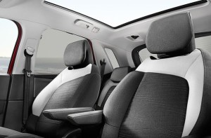 2014C4 PICASSOの運転席助手席