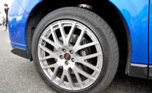 フォレスター STI tS Conceptのホイールとブレーキ周り