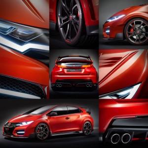 Civic Type-Rの各部写真