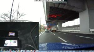 兵庫県尼崎市道意町7丁目のループコイルカメラ