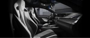 GS F 運転席助手席