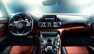 AMG-GT運転席