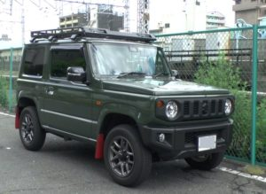 スズキ ジムニー 64系 ジャングルグリーンカラー