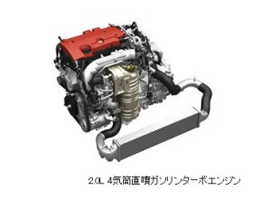 S2000搭載の直列4気筒VTECターボエンジン