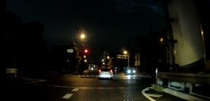 交差点右折時の破線