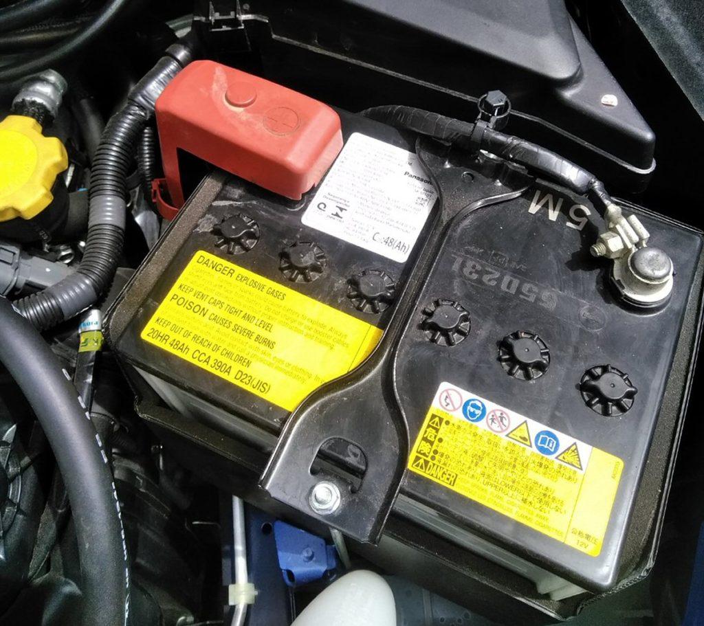 スバル WRX バッテリー