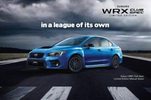 WRX Club Spec Limited Edition