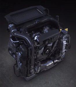 レヴォーグ搭載1.8L水平対向エンジン