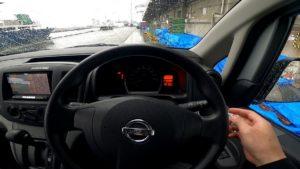 NV200 運転席 ナビ周り